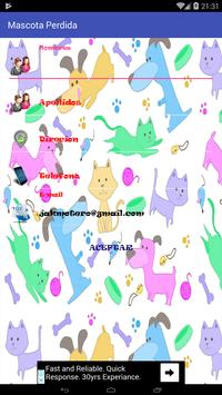 Mascota perdida captura de pantalla 4