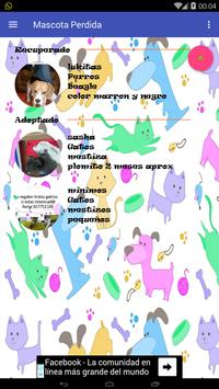Mascota perdida captura de pantalla 5