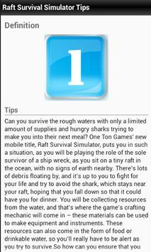 Guides For Raft Survival screenshot 2
