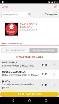 Pizza Gigante screenshot 1