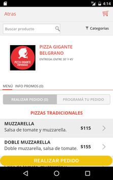 Pizza Gigante screenshot 9