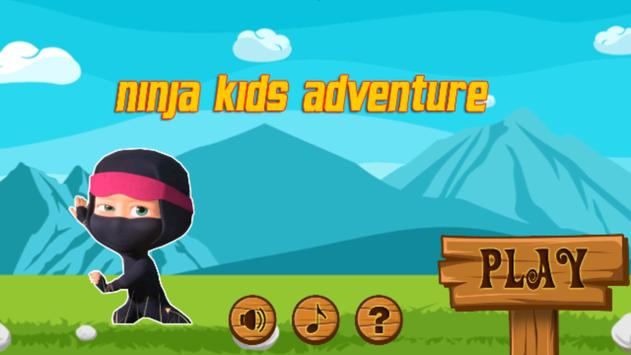 Ninja Kids Adventure poster