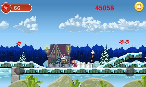 masha et michka princesse adventure run screenshot 4