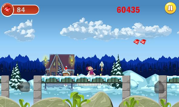 masha et michka princesse adventure run screenshot 6