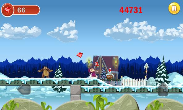 masha et michka princesse adventure run screenshot 3