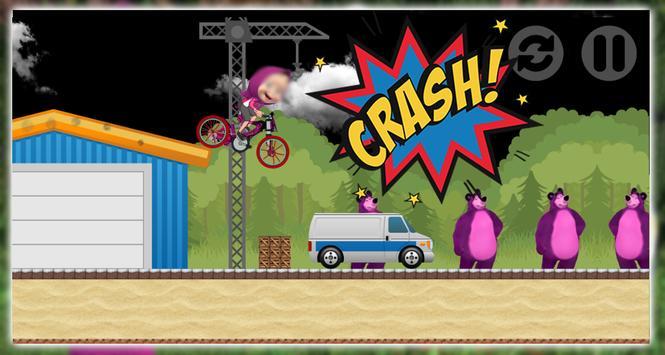 Masha with Bear Super Bike screenshot 2