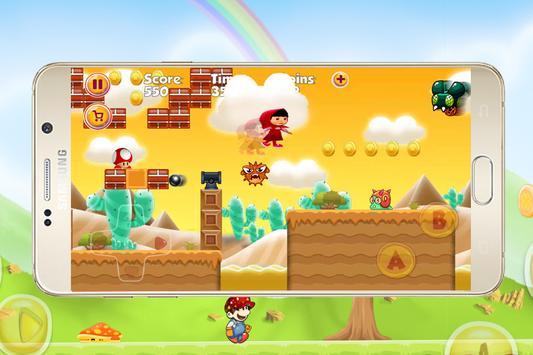 Masha Jump adventure apk screenshot