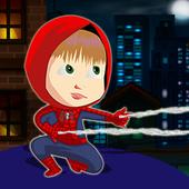 Masha Spider Hero Kids icon