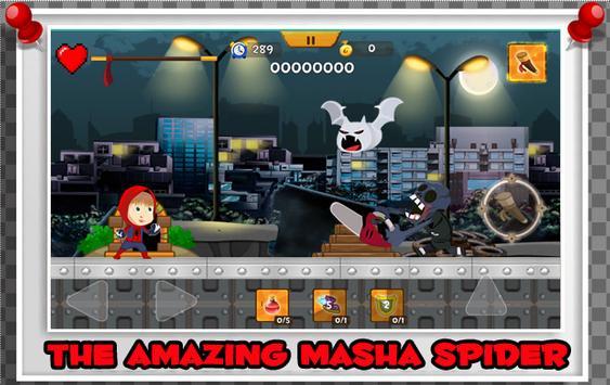 Masha Spider Hero Kids poster