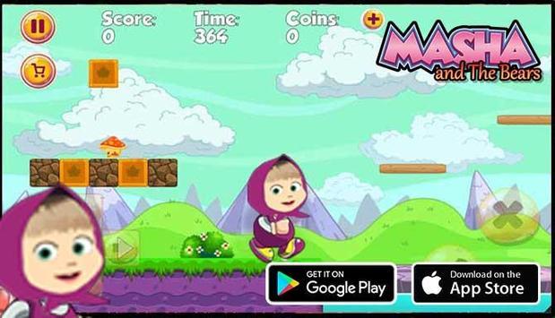 Princess Masha With The Bears apk screenshot