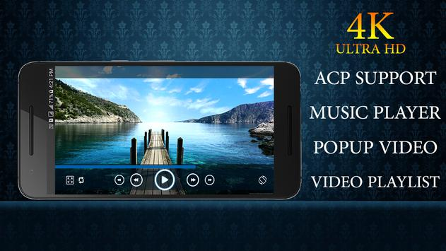 Video Player for Android : MP3 Player + MP4 Player screenshot 3