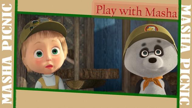 Masha and Bear: Picnic Game screenshot 18