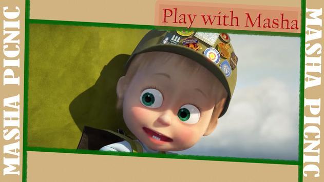 Masha and Bear: Picnic Game screenshot 19