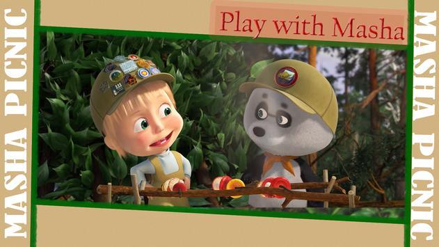 Masha and Bear: Picnic Game screenshot 22