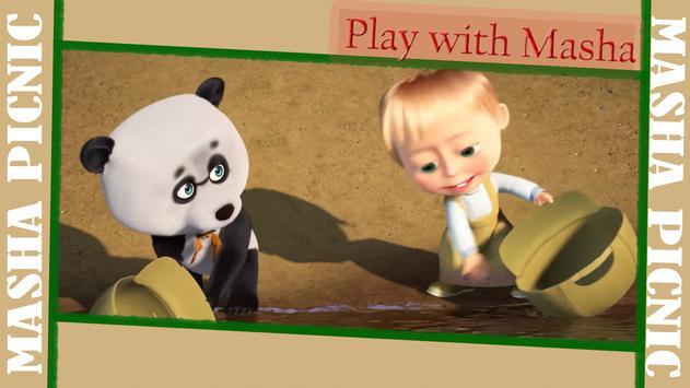 Masha and Bear: Picnic Game screenshot 7