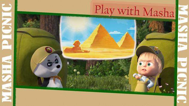 Masha and Bear: Picnic Game screenshot 4
