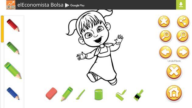 Masha Coloring Game Apk Screenshot