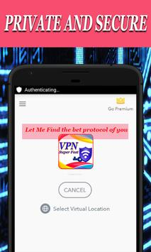 VPN Hotspot Free Proxy Master screenshot 2