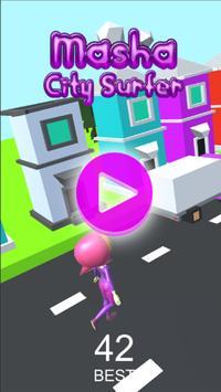 Masha City Surfer screenshot 2