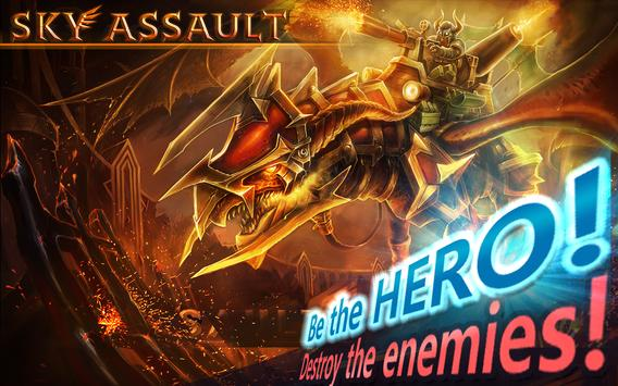 SKY ASSAULT: 3D Flight Action apk screenshot