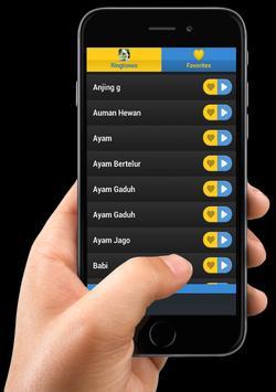Ringtone Hewan screenshot 3