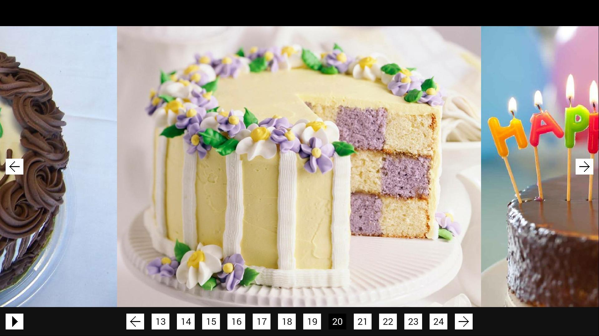 Happy Birthday Cakes Poster