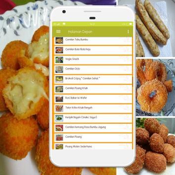 Resep Makanan Ringan screenshot 1