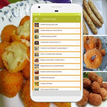 Resep Makanan Ringan screenshot 2