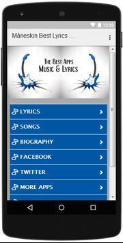 The Best Music & Lyrics Måneskin screenshot 1