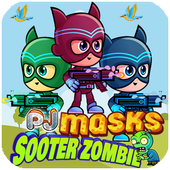 masks: zombie shooter icon