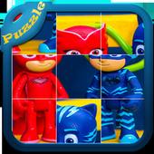 Ninja pj puzzle masks icon
