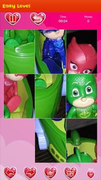 Ninja pj puzzle masks apk screenshot