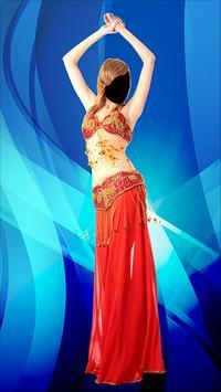 Arab Girl Dancer Photo Montage screenshot 3