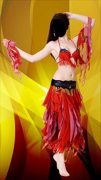Arab Girl Dancer Photo Montage screenshot 1