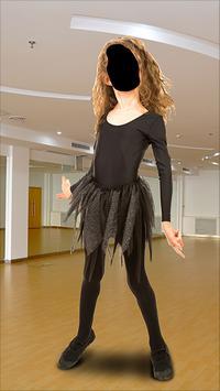 Ballet Dancer Fashion Photo Montage poster