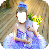 Ballet Girl Dancer Photo Montage icon