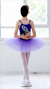 Ballet Girl Dancer Photo Montage poster