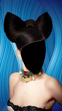 Popular Women Hairstyle Photo Montage poster