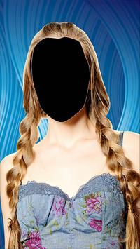 Popular Women Hairstyle Photo Montage screenshot 3