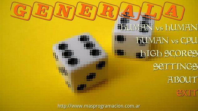 Generala Free poster