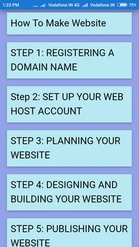 How To Make Website poster