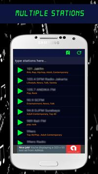 Massachusetts Radio Fm 21 Stations poster