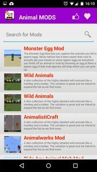 Animal Mod For MCPE* apk screenshot