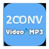 2Conv - MP3 Tube icon