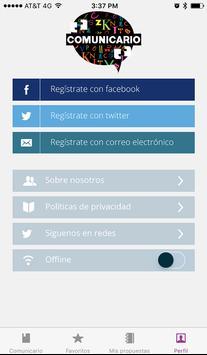 Comunicario screenshot 4