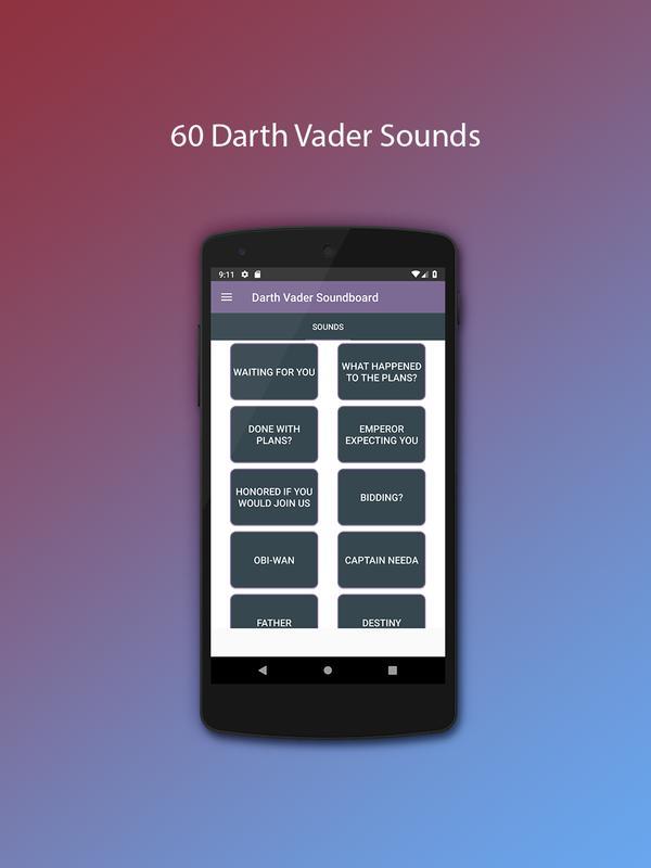 Darth vader soundboard download.
