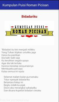 Kumpulan Puisi Roman Picisan apk screenshot