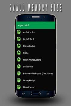 Lagu Terbaru Ambon Yopie Latul apk screenshot