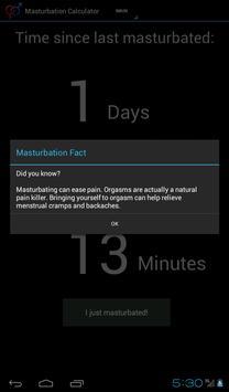 Masturbation Calculator captura de pantalla 14
