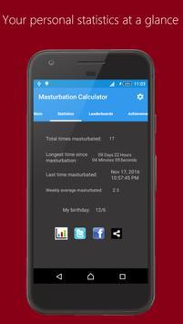 Masturbation Calculator captura de pantalla 1